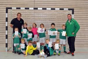 Championsleague-Turnier der F-Jugend in der STB-Halle